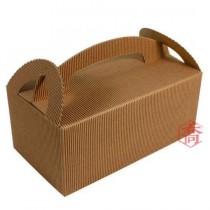 手提瓦楞餐盒(中)(21.5*11.5*9cm)