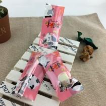 FJ-010 乳牛(粉) 單粒牛軋糖袋 (500入/包)