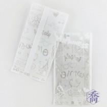 FJ-395 享樂時光(白) 高阻隔豆塔袋 (6.5*12.5+2.5cm)