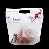 FJ-850 午茶花園 手提夾鏈立袋 (260*260+45mm)(50入/包)