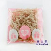 【買10送1】FJ-禮物(粉) OPP印刷自黏袋 (8*8cm)
