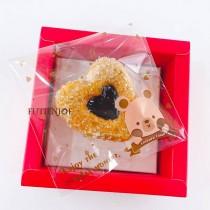 【買10送1】FJ-熊仔 OPP印刷自黏袋 (9*9cm)