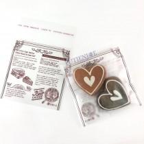 【買10送1】FJ-吃貨人生(霧面) OPP印刷自黏袋 (10*10cm)