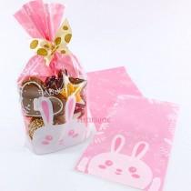 【買10送1】FJ-兔寶-OPP立體包裝袋 (10*18.5+5cm)(100入/包)★整箱50包不搭贈