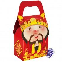 福神公仔 一斤糖果提盒 (18*9.8*9.5cm)