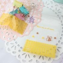 2號PP印刷夾鏈袋-蜜蜂(黃)(6*8.5cm)