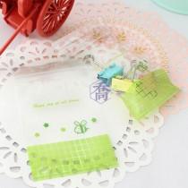 2號PP印刷夾鏈袋-蜜蜂(綠)(6*8.5cm)