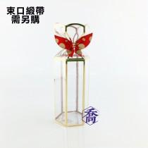 101(金)PVC六角手工盒(4.7*5.5*10cm)