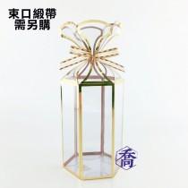 103(金)PVC六角手工盒(7.5*8.5*12cm)