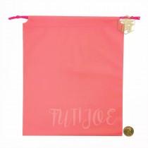 27*32*24cm粉紅束口平袋