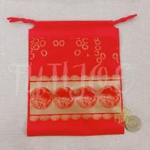 17*21*14cm福氣紅束口袋