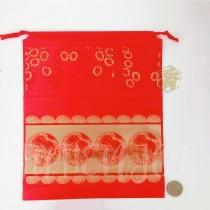 25*30*22cm福氣紅束口袋
