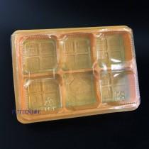 6粒 蛋黃酥內襯T-306(20*14.5*4cm)